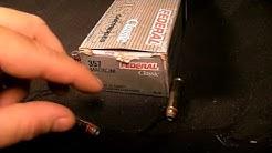 Gel Test - .357 Mag - Federal Hi-Shok 125 Gr.