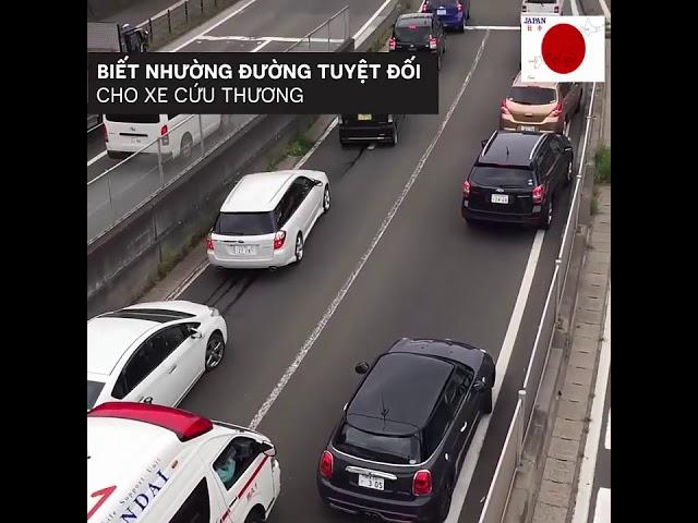 Chỉ có thể là Nhật Bản - Văn hóa giao thông.