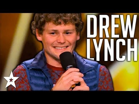 Stuttering Comedian Drew Lynch Makes It To Finals | All Performances | America's Got Talent