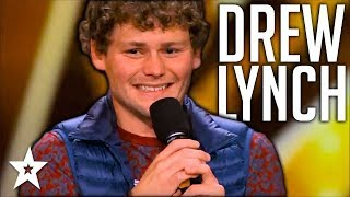 Stuttering Comedian Drew Lynch Makes It To Finals All Performances America s Got Talent