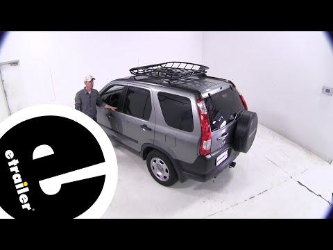 Etrailer | Thule Roof Basket Review - 2006 Honda CR-V