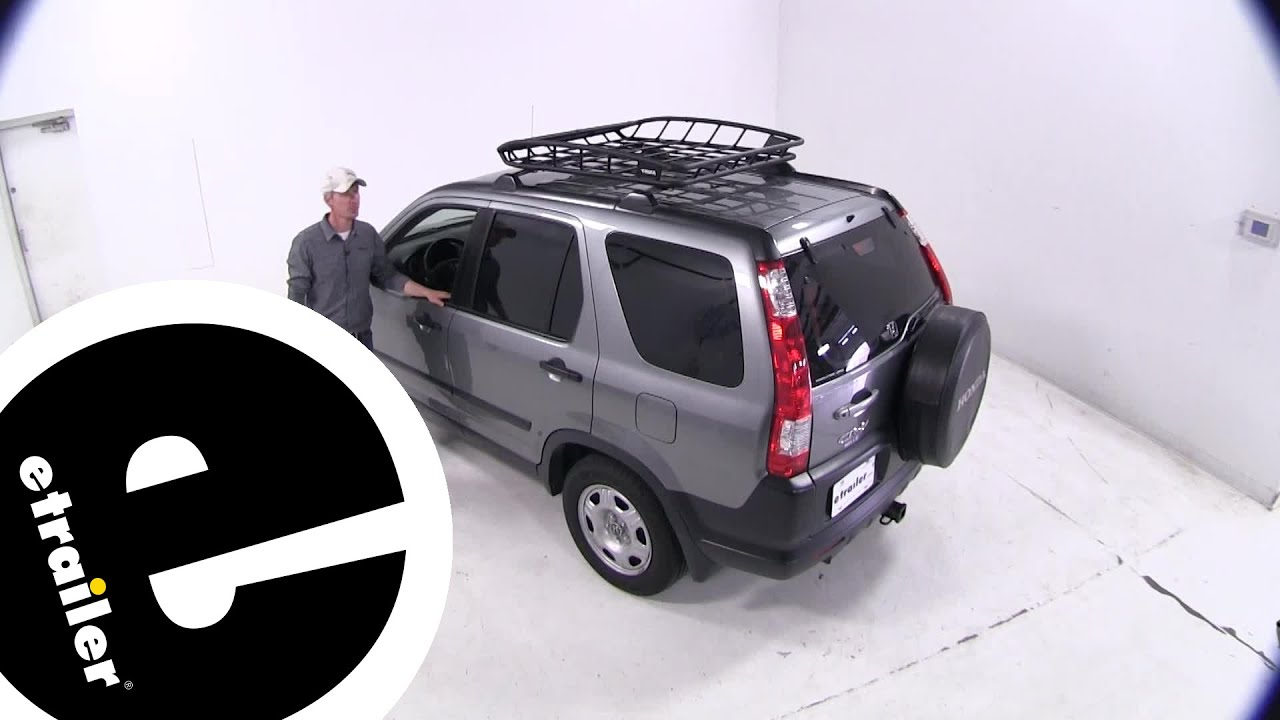 install thule cargo roof basket 2006 honda cr v th859xt