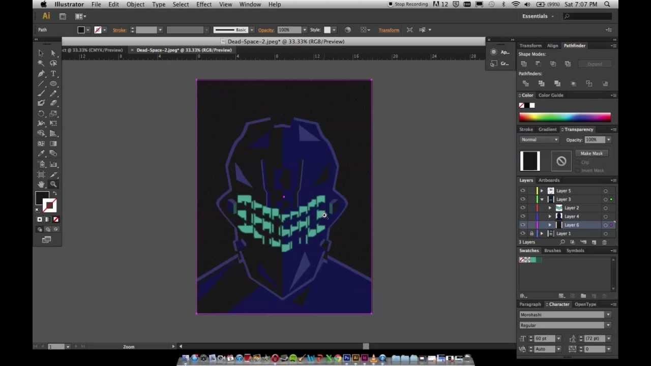 Poster design using illustrator - Design A Graphic Poster Tutorial Adobe Illustrator Dead Space Youtube