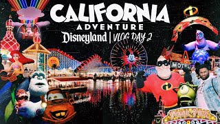 Disneyland 2018 Day 2: Disney California Adventure | VLOG Day 66