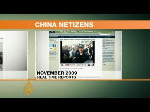 China's netizens pressure Beijing - 02 Jan 10