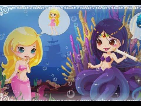 мультик игра, Приключения Русалочки #2, игра бродилка , Little Mermaid, #mermaid, #kids