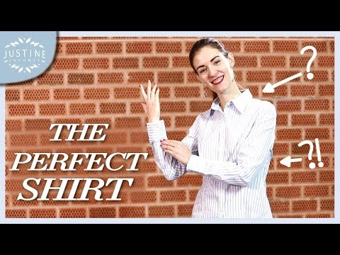 How a women's shirt should fit ǀ 10-POINT CHECKLIST ǀ Justine Leconte
