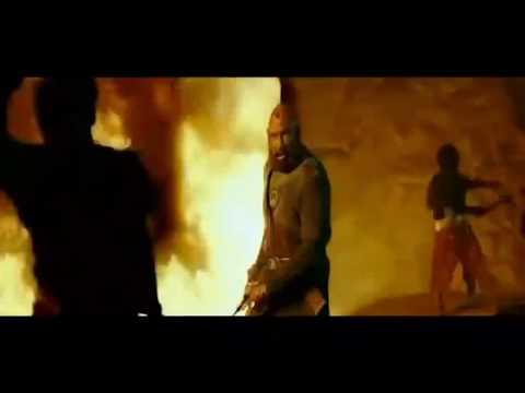 Katappa killed Bahubali scene