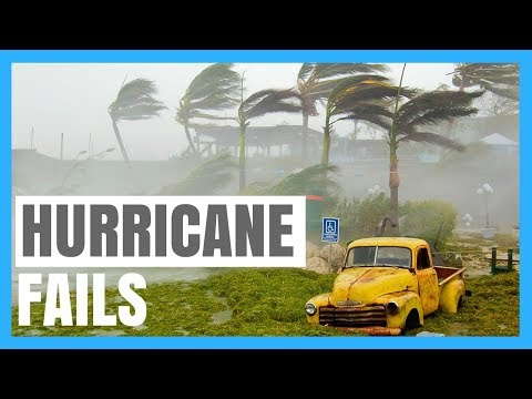 Funny and Weird Weather Fails Compilation 2017, Hurricane, Best Nature Fails