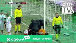 Kisvárda Master Good – Puskás Akadémia FC | 1-0 | (1-0) | OTP Bank Liga | 16. forduló | MLSZTV
