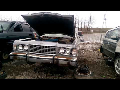 1973 Ford Metoer at the Junk Yard