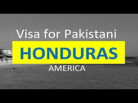 Honduras (America) Visa for Pakistani l Contact us