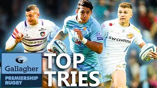 Top Tries   Rounds 1621   Gallagher Premiership