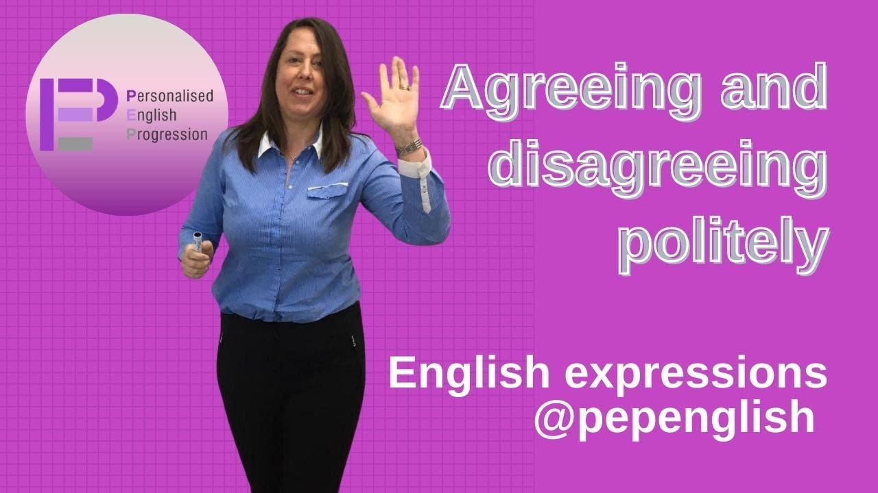 How can you agree & disagree politely in English ?