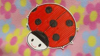 てんてん、可愛いてんとう虫の歌。子守り歌にもなります。作詞・作曲/飯島秀子.