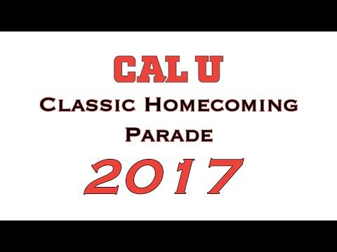 California University Homecoming Parade 2017