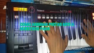 Download TUTORIAL ROLAND XPS-10, COMO ASIGNAR PISTAS MP3 A LOS PADS