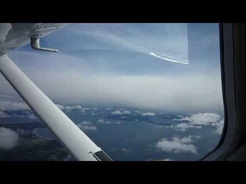 Beautiful flight over Washington's islands