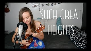 The Postal Service - Such Great Heights (Cover)