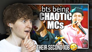 Download THEIR SECOND JOB?! (BTS being chaotic MCs | Reaction/Review)