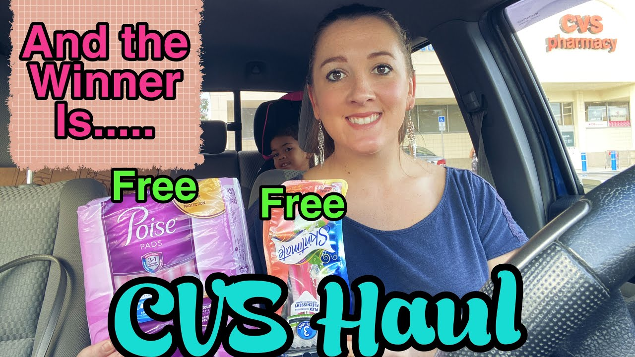 CVS Haul - Winner Announced! I 3 Easy Freebies!