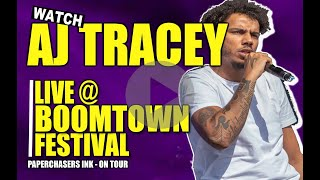 AJ TRACEY AT BOOMTOWN FESTIVAL 2018
