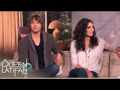 Carrie Ann Inaba and Eric Christian Olsen
