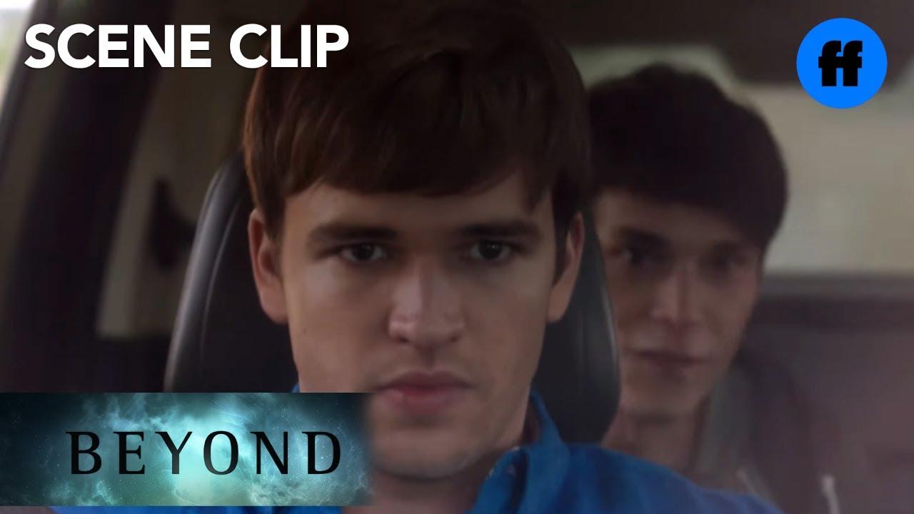 Download Beyond | Season 1, Episode 10: Holden Flips A Car During Their Escape | Freeform