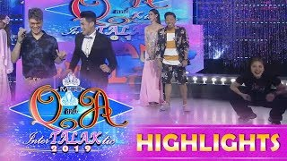 Video It's Showtime Miss Q and A: Vhong, Jhong, and Anne make fun of Kuya Escort Ion's weird dance steps download MP3, 3GP, MP4, WEBM, AVI, FLV Oktober 2018
