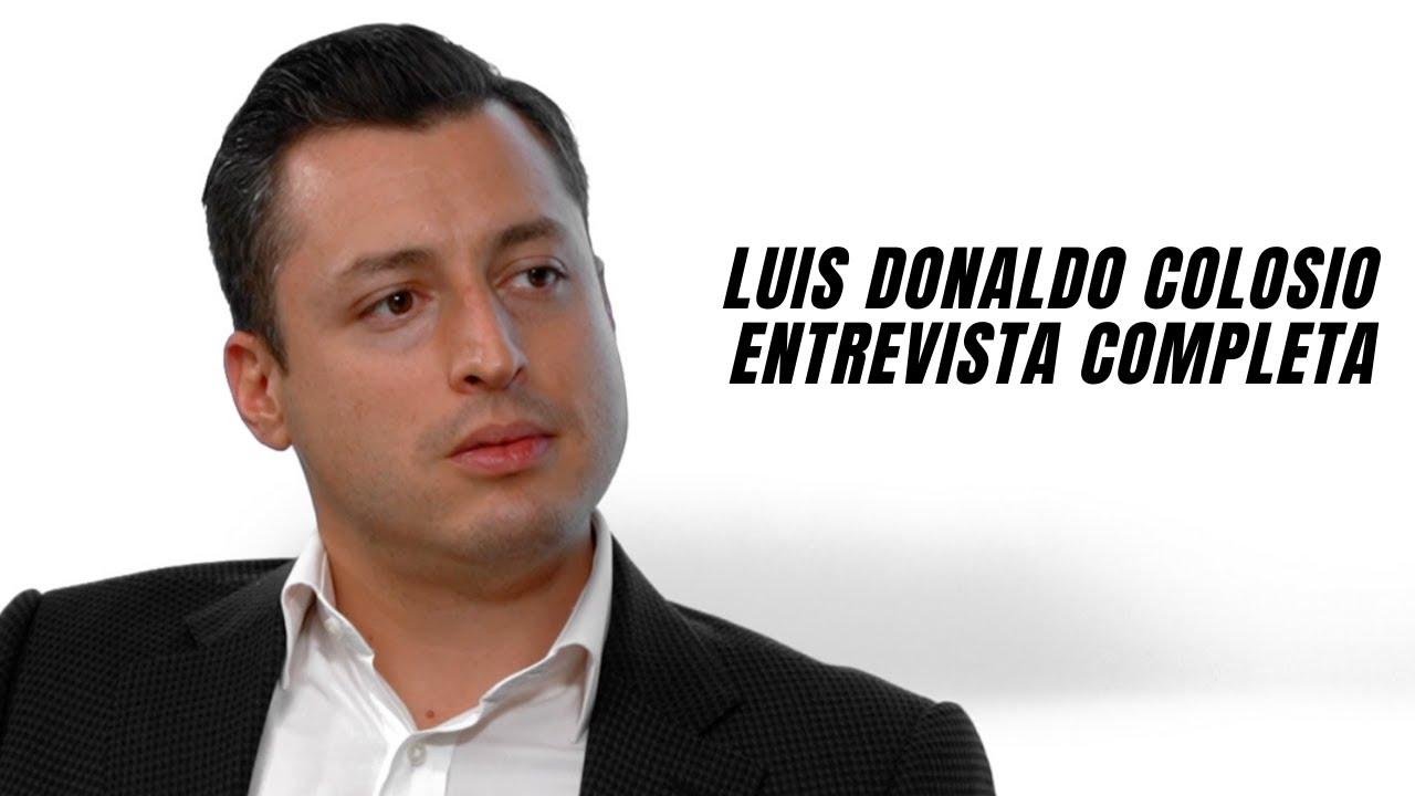 Luis Donaldo Colosio en Entrevista con Nayo Escobar
