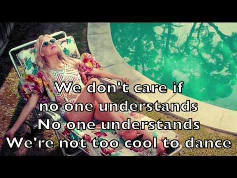Eden Xo - Too Cool To Dance Karaoke Cover Backing Track + Lyrics Acoustic Instrumental