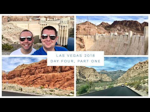 Las Vegas Vlog - March 2018 - Day 4 - Part 1 - Hoover Dam and Red Rock Canyon