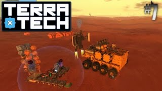 Terratech Hawkeye #7 Crafty Mike And His Sorting Base