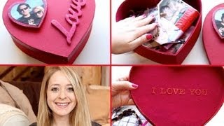 Diy Memory Box For Valentine's Day