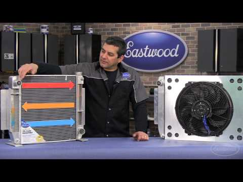 Performance Aluminum Radiator - Tri-Flow Technology Keeps Your Car Cooler Than Ever! - Eastwood