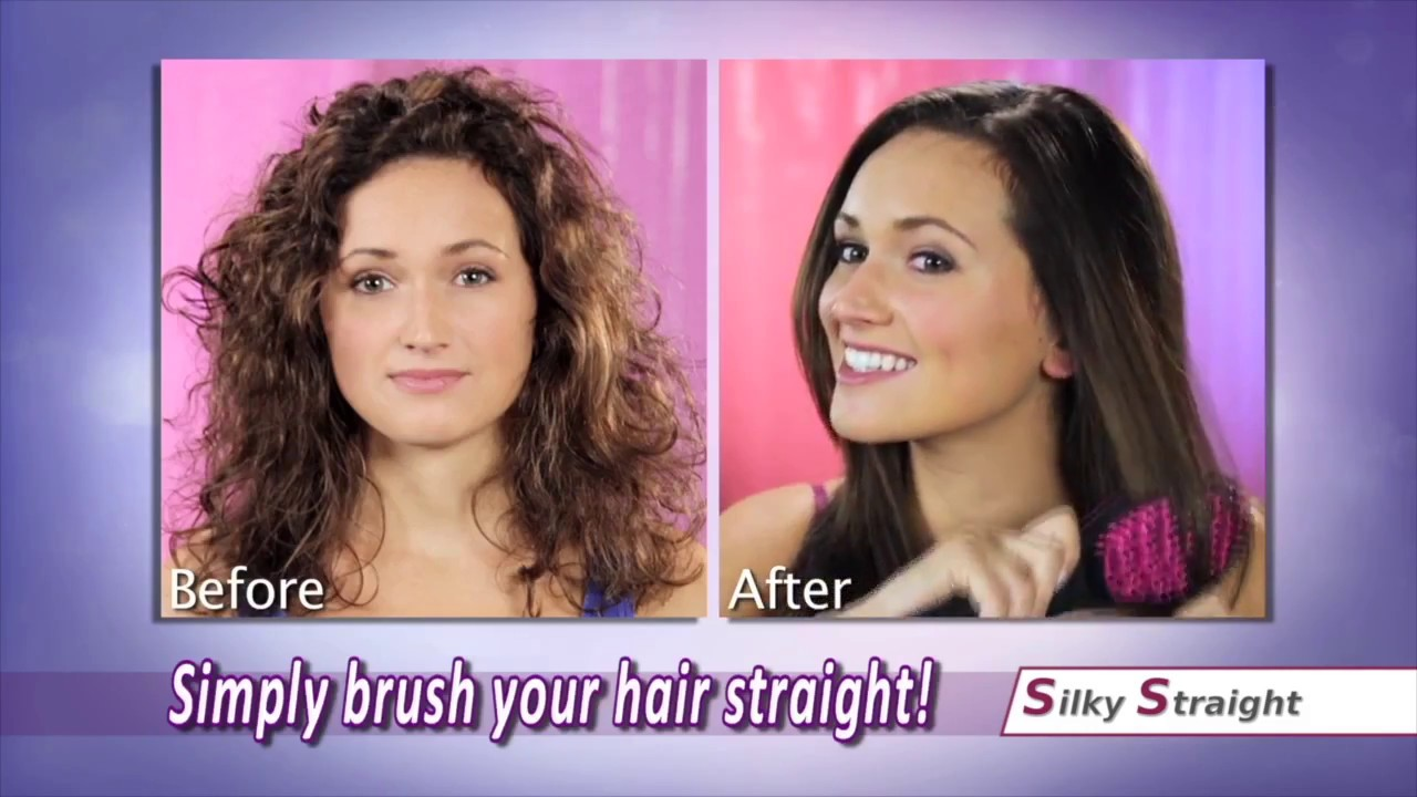 Silky Straight An Easy To Use Ceramic Brush