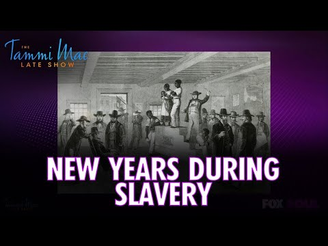 The Slavery Truth of New Years Day FULL EPISODE | The Tammi Mac Late Show