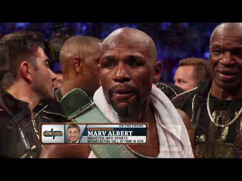 Marv Albert: Where Mayweather Ranks Among Boxing
