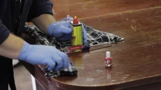 How to Get Nail Polish Off of Furniture : Furniture Repair & Refinishing