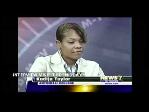 Antonelli College Hattiesburg Commencement Interview (News 7)