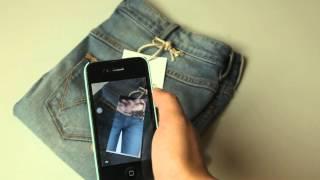 Wrangler Augmented Reality on Product Hang Tag
