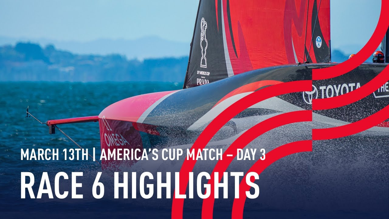 36th America's Cup Race 6 Highlights
