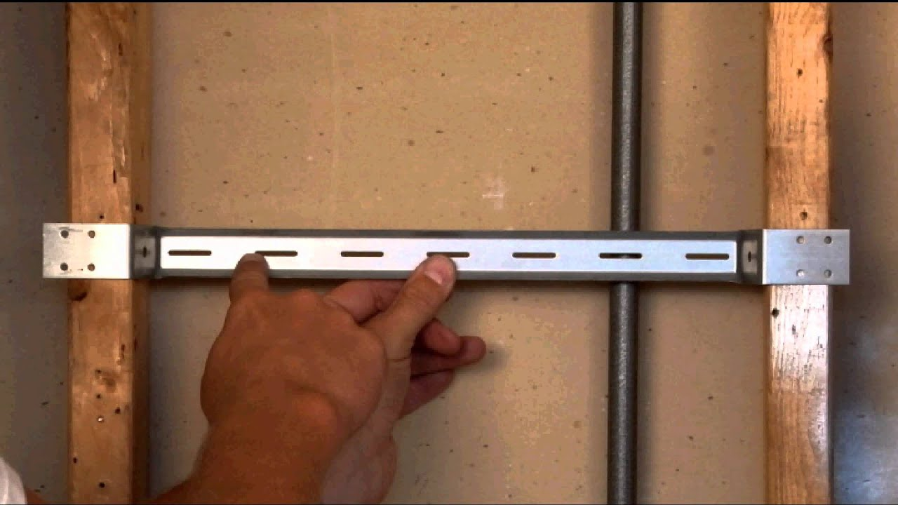 Wall Mount Bracket for Electrical Boxes BMB16350 - YouTube