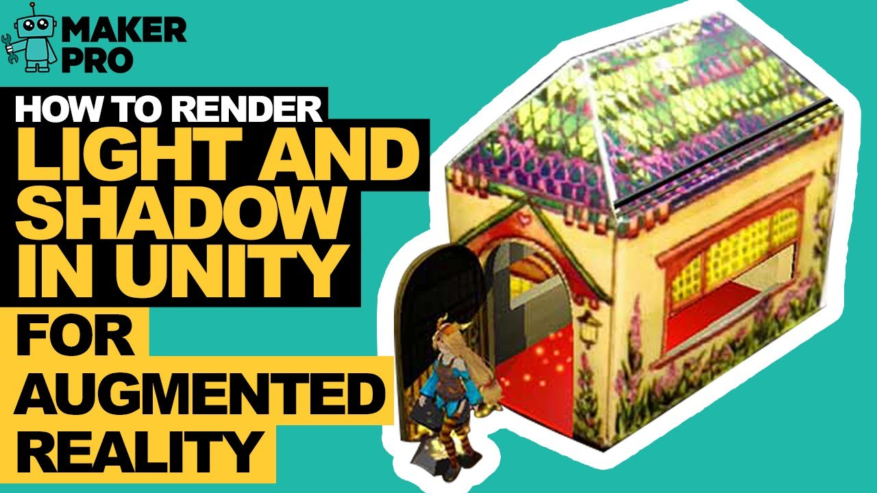 How to Render Light and Shadow in Unity for Augmented