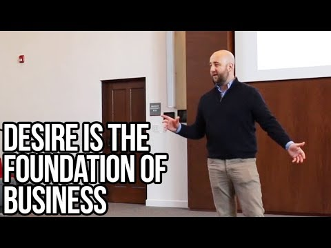 Desire Is the Foundation of Business | Luke Burgis