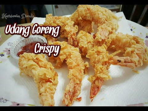 Cara Mudah Membuat Udang Goreng Crispy Udang Goreng Crispy Tahan Lama Youtube