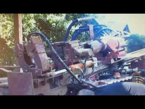 буровая установка на гусеничном ходу