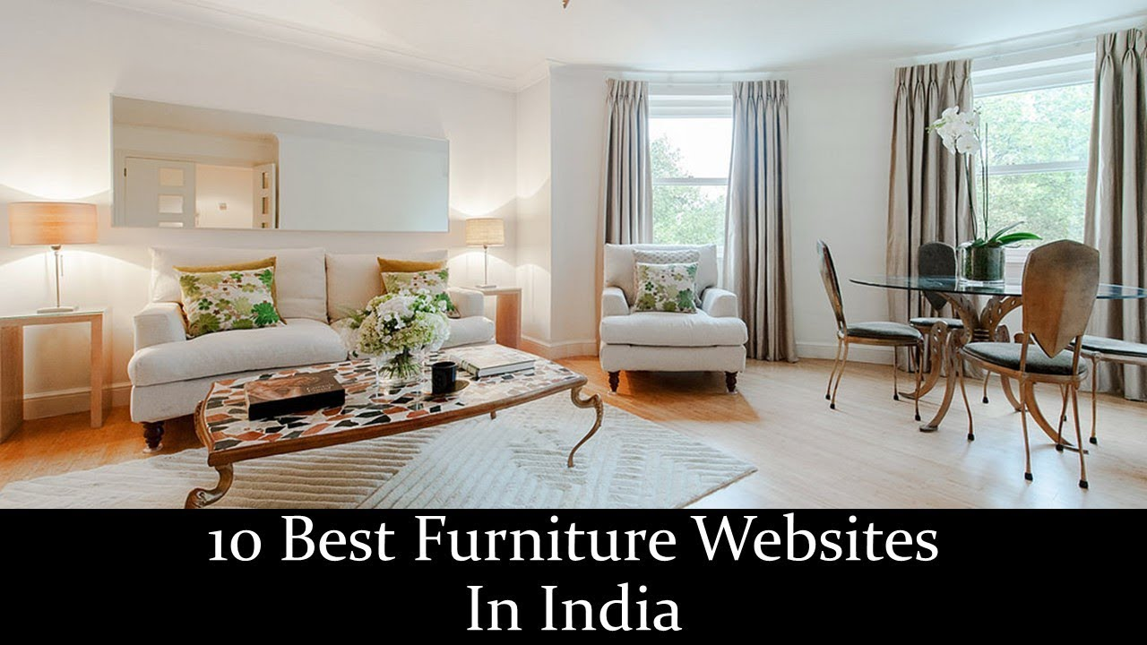 10 best furniture websites in india youtube
