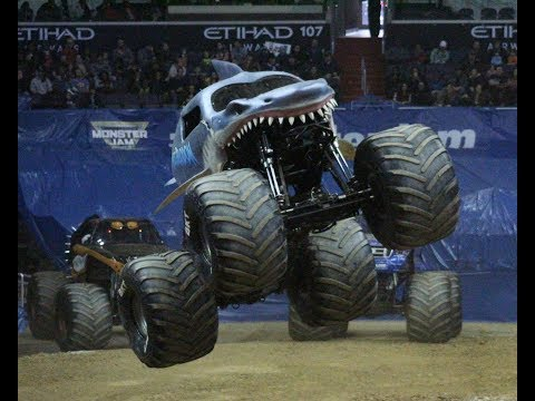 Megalodon Freestyle, Oklahoma City, Oklahoma Monster Jam 2017
