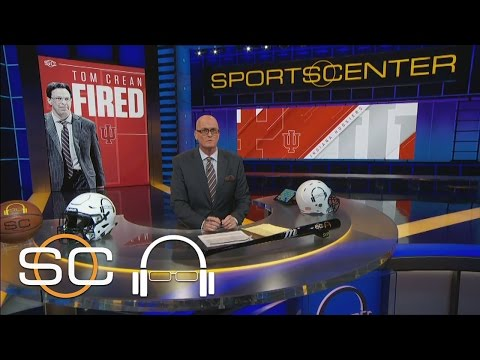 Scott Van Pelt Reacts To Indiana Firing Tom Crean | 1 Big Thing | SC With SVP | March 17, 2017